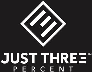 Just Three Percent